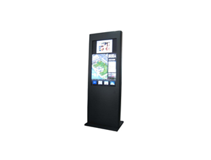 42 inch vertical imitation apple touch inquiry machine
