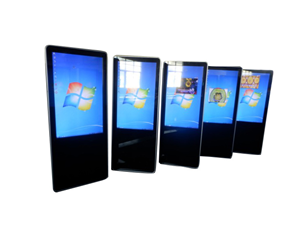 47 inch vertical imitation apple touch inquiry machine