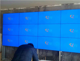 "42"" ultra narrow side stitching display 3*5"